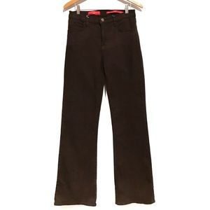 NYDJ brown straight leg jeans 8 (1163-Ag)